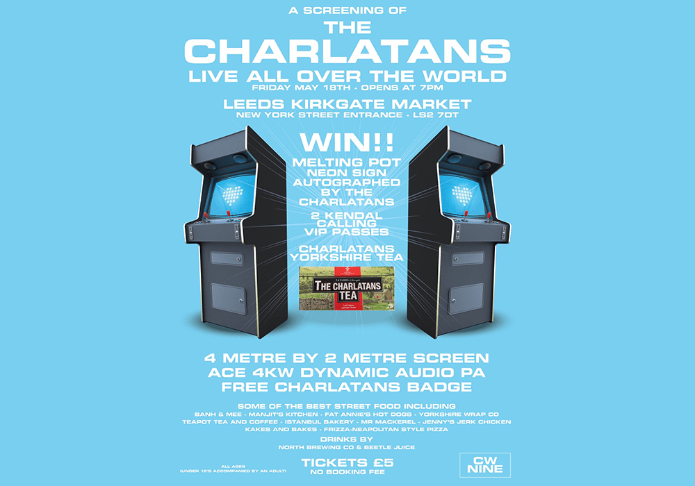 Charlatans 'Live All Over The World'