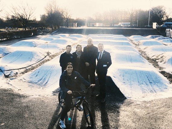 Middleton Park Bike Hub launch