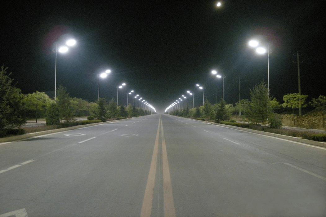Leeds LED street lights