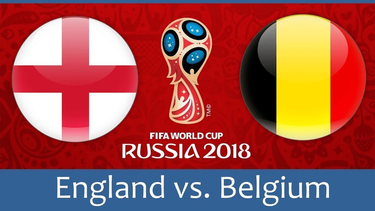 FIFA World Cup England v Belgium