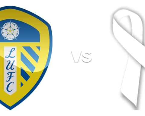 Leeds United Supporting White Ribbon