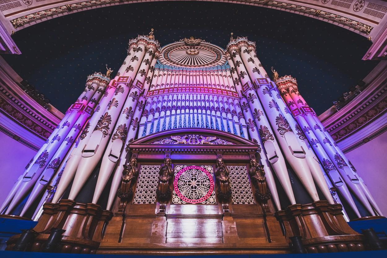 Leeds Town hall organ recital