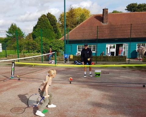 Leeds Parks Community Tennis Programme