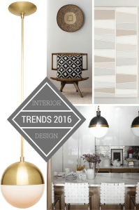 Top Interior Design Trends 2016 - Leedy Interiors
