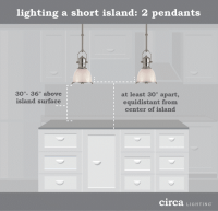 Lighting Tips - Size and Placement Guide