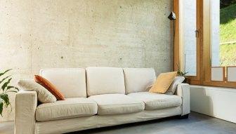 Woonkamer Met Beton : Woonkamer vloer leef beton