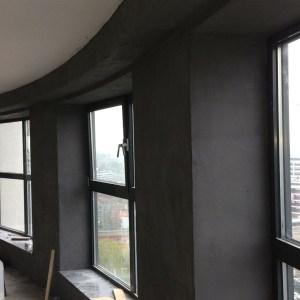 betonlook muur   Leef-Beton