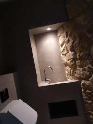 Leef-beton badkamermeubel