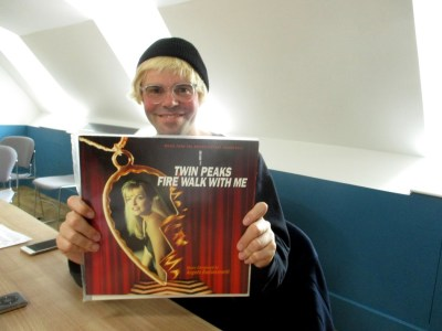 Vinyl demand: Tim Burgess puts the needle on the record