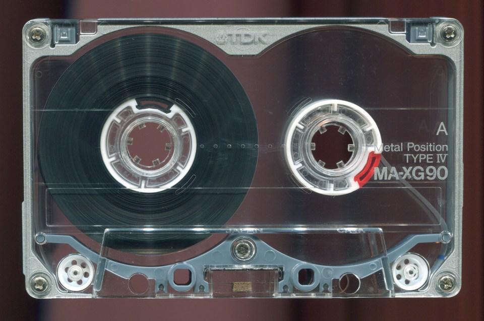 TDK MA-XG cassette