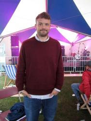 Will Burns, poet, Festival No.6, 2012
