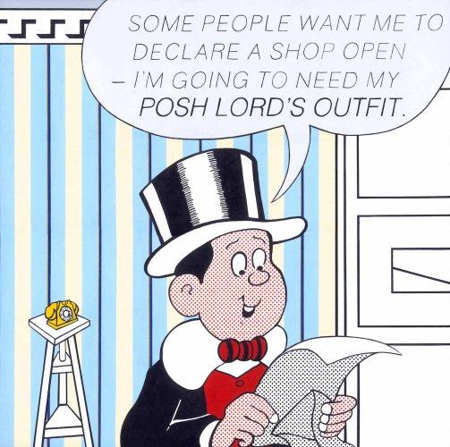 Lord Snooty pop art