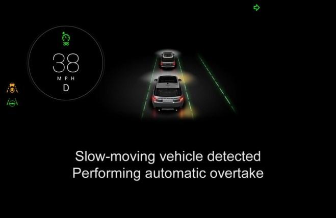 Self-driving autonomous car