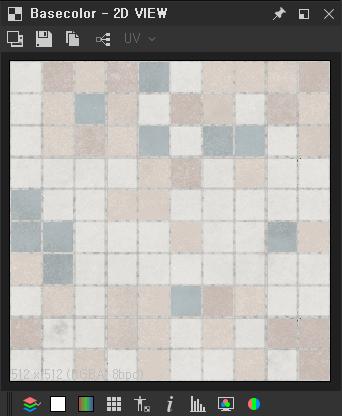 Basecolor - 2D VIEW