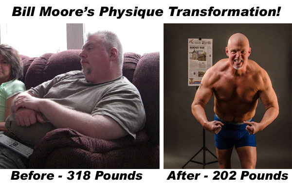 Bill Moore's Physique Transformation