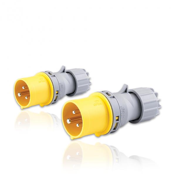 Plugs 3P 4H (16A, 32A)