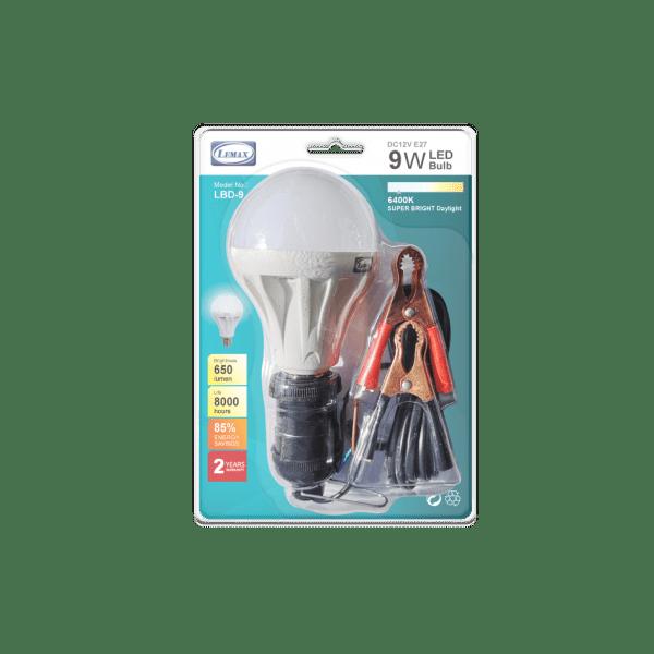 LEMAX DC12V E27 Light Bulb (9W)