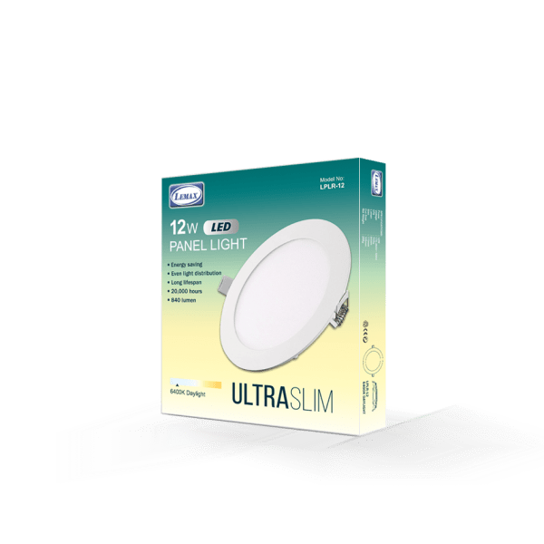 LEMAX LED Panel Light (12W)