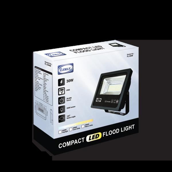 LEMAX LED Compact Flood Light (30W)