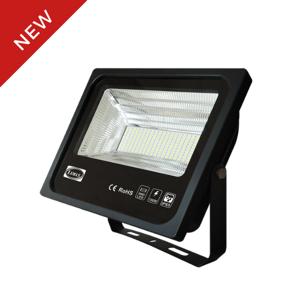 LEMAX LED Compact Flood Light Black