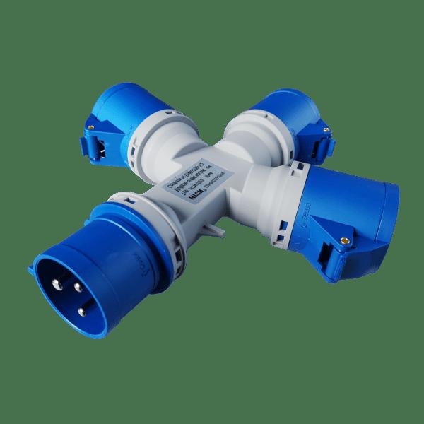 Plugs-HTCN 32A-3P-6H-Multiple-Socket-Outlet HTCN1023