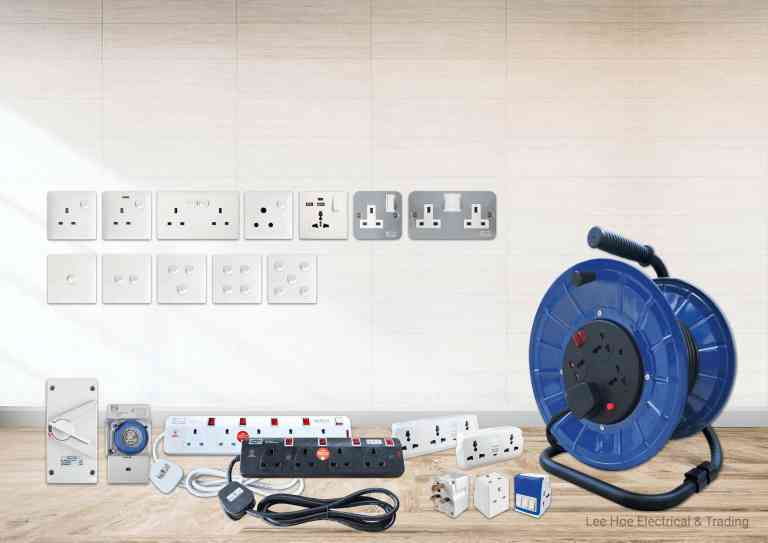 Product category-Switches, Extension Sockets & Accessories