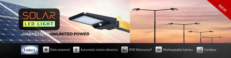 Solar LED Street Light slider