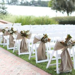 Flower Chair Sashes For Wedding High Boy Outdoor
