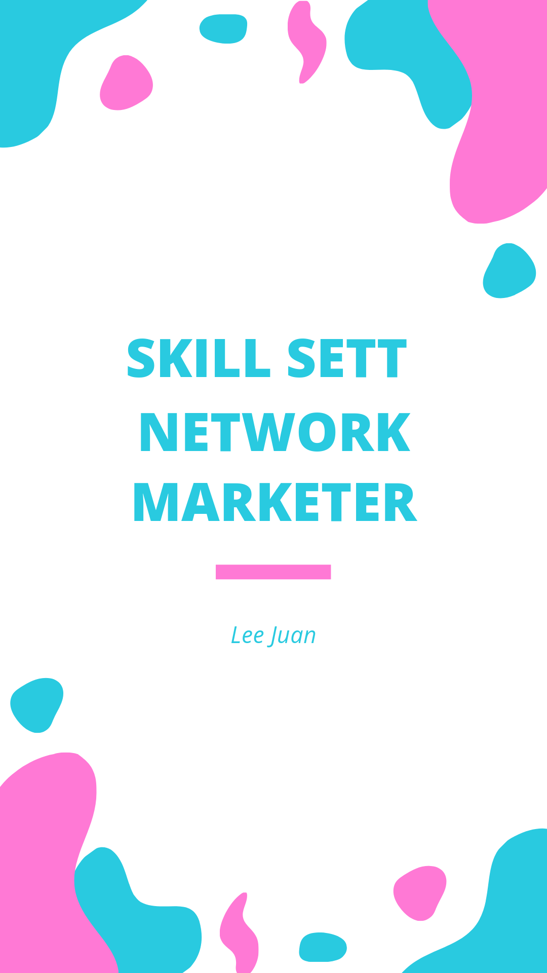 Skill Sett Network Marketer