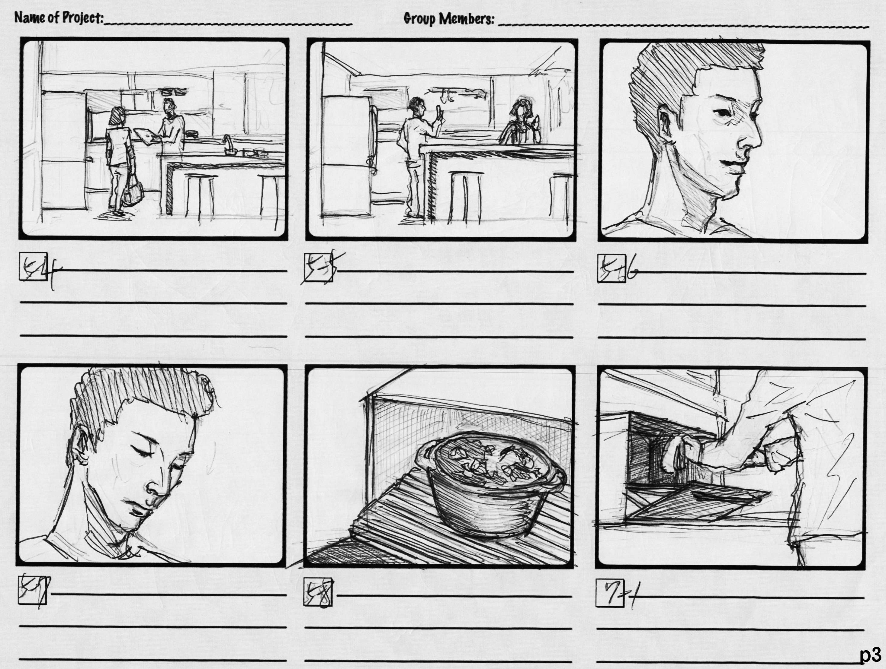 Whirlpool washing machine/Ad video/storyboard