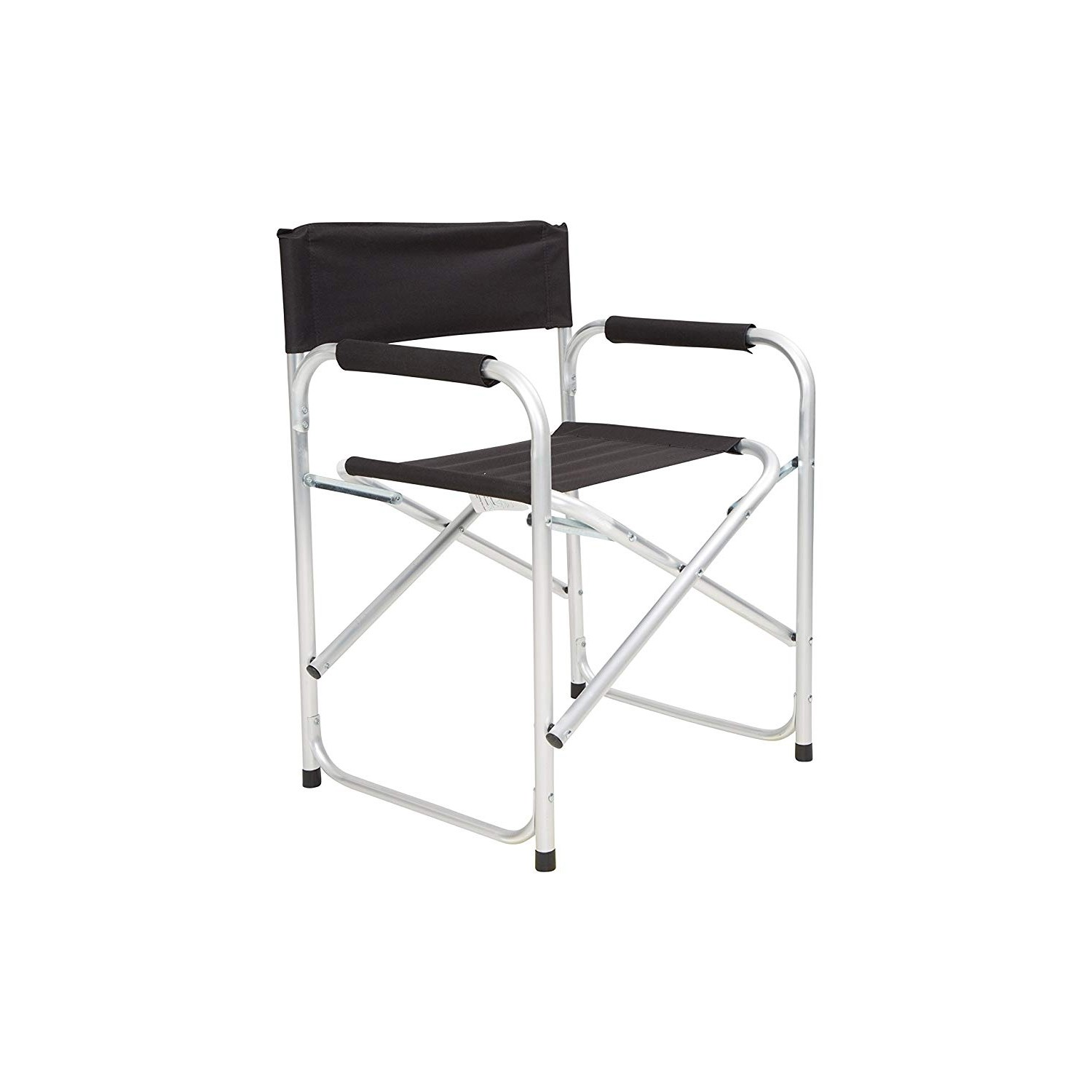 Black Directors Chair Blackspur Aluminium Directors Chair Black