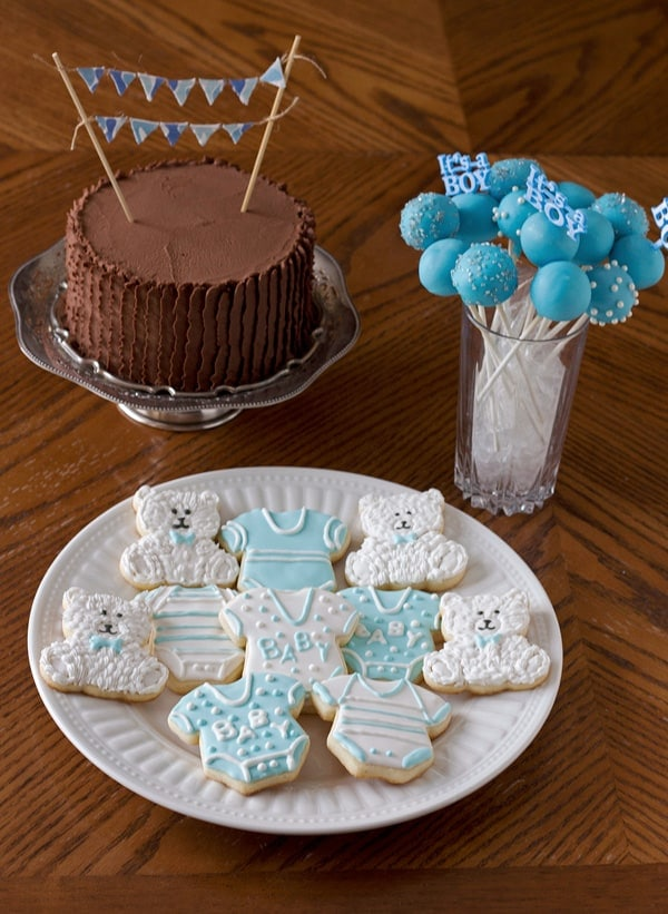 Baby Shower Dessert Table : shower, dessert, table, Shower, Dessert, Table, LeelaLicious