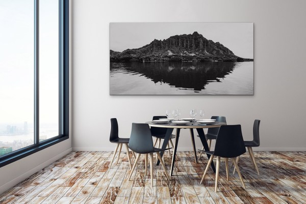 unique limited edition fine wall art black and white mountain and water