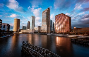 cityscape fine art photography tampa bay riverwalk