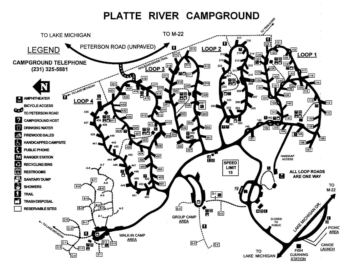 Platte River Campground – Leelanau com