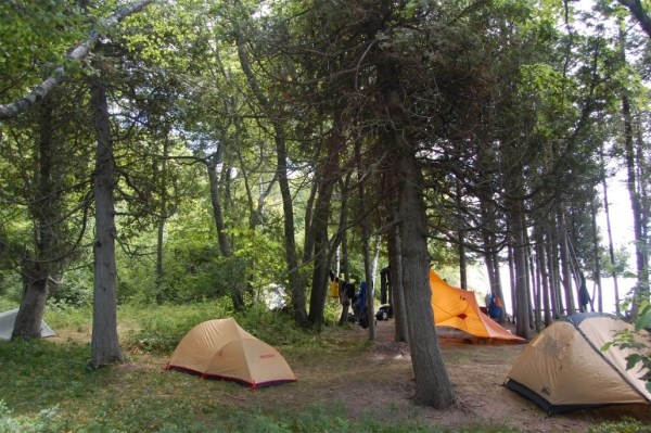 Camping-at-the-Sleeping-Bear-Dunes-Lakeshore