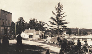 Anderson Store and Home, Omena Post Office, circa 1890