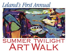 Leland Summer Twilight Art Walk