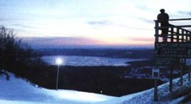 Sunset atop Sugar Loaf