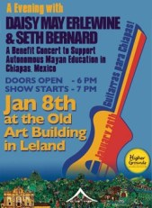 Guitars for Chiapas benefit featuring Seth Bernard