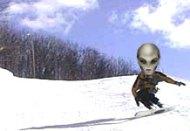 Sugar Loaf Snowboarder