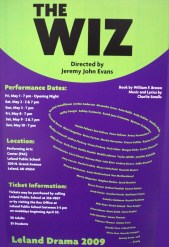 """The Wiz"" at Leland School"