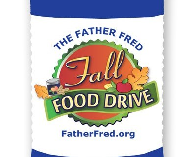 Join the Father Fred Fall Food Drive