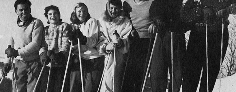 """Hans """"Peppi"""" Teichner and the Sugar Loaf Ski Club, 1950"""