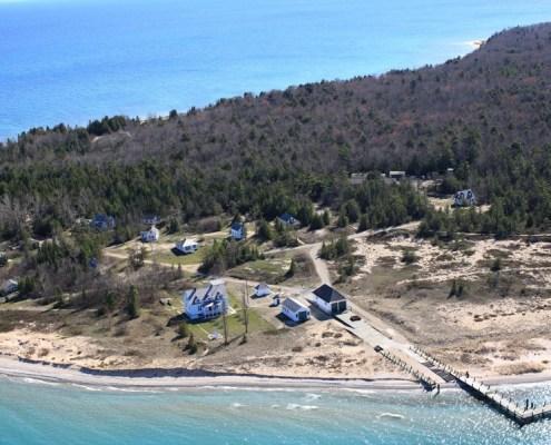 Volunteer to help restore the Katie Shepard Hotel on North Manitou Island!