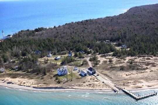 Aerial Photography of the Leelanau Peninsula