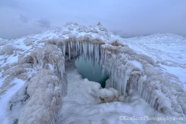 Shoreline Ice ... 1-25-13
