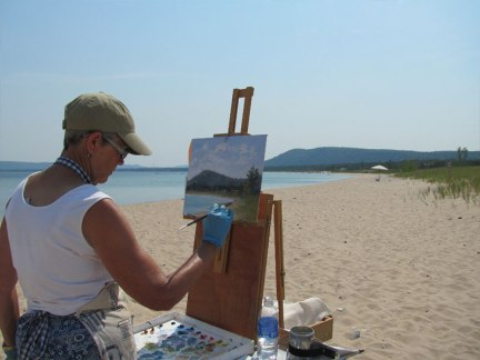5th annual Glen Arbor Paint Out/Plein Aire Weekend