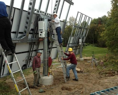 Northport & University of Michigan working on 100% Renewable Energy!