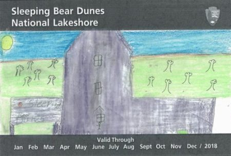 Kids Artwork Contest for Sleeping Bear Park Pass